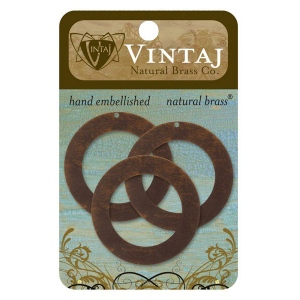 Vintaj Circle Frame: 34mm