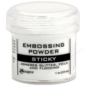 Ranger Sticky Embossing Powder: 1 Ounce