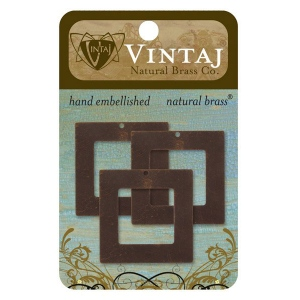 Vintaj Square Frame: 29mm