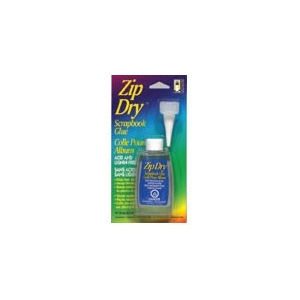Beacon Adhesives Zip Dry Paper Glue: 2oz