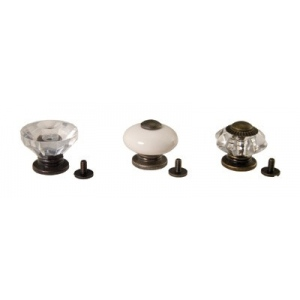 Advantus Tim Holtz Ideaology Curio Knobs, 3 Pieces