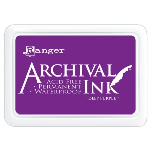 Ranger Archival Ink Pads: Deep Purple