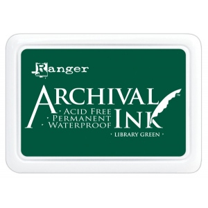 Ranger Archival Ink Pads: Library Green