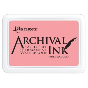 Ranger Archival Ink Pads: Rose Madder