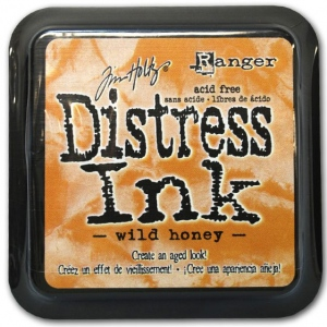 Ranger Distress Pads by Tim Holtz: Wild Honey
