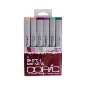Copic Sketch Markers Set: Floral Favorites 1