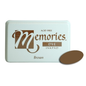 Stewart Superior Memories Dye Ink Pads: Brown