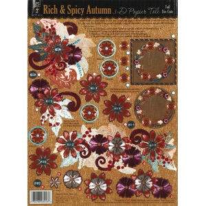 Hot Off the Press 3-D Papier Tole Die Cuts Sets