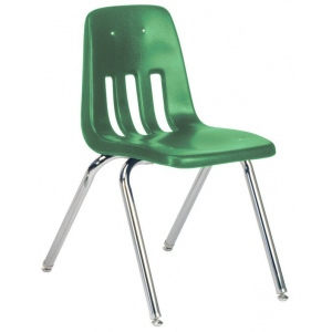 "Virco Classic Classroom Chair: 18"", Green 34"