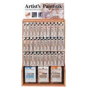 Shiva Paintstik Oil Paint Artist Color Display Half Assortment