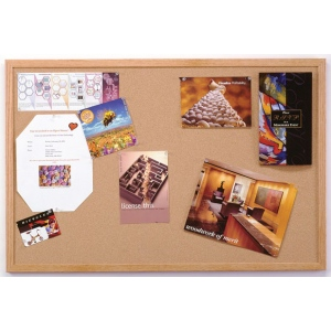 Ghent® Wood Frame Traditional Cork Bulletin Boards