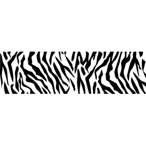 "ColorBox® Molding Mat Zebra: Black/Gray, Rubber, 2"" x 7"", Molding Mat, (model CS69407), price per each"