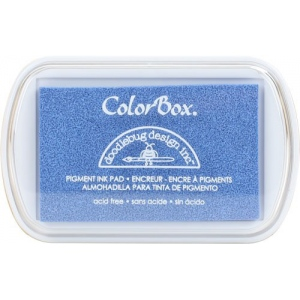 Clearsnap ColorBox Doodlebug Design Pigment Inkpads: Bubble Blue