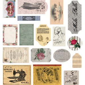 7Gypsies Mini Ephemera: LadyLike