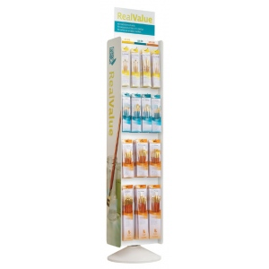 Princeton RealValue Brush Sets Spinner Display Assortment