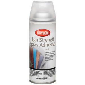 Krylon® High Strength Spray Adhesive: 11 oz, Permanent, (model K9090), price per each