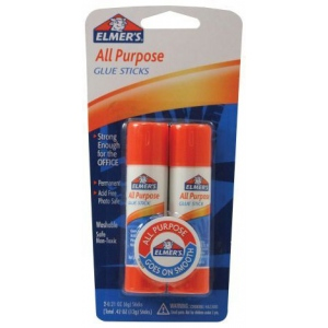 Elmer's® All-Purpose Glue Stick .42oz: .42 oz, (model E512), price per pack