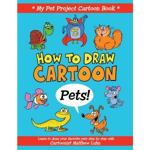 General's® How To Draw Cartoon Pets! Book: Book, Drawing, (model G699B5), price per each