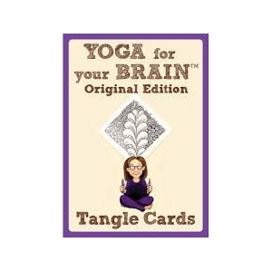Design Originals Yoga for Your Brain Tangle Cards: Original Edition