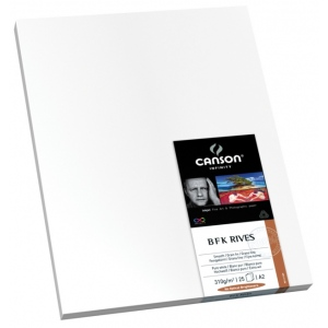 "Canson® Infinity BFK Rives® 24"" x 36"" Digital Paper Sheets: White/Ivory, Sheet, 24"" x 36"", Smooth, (model C206111010), price per box"