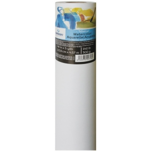 Canson® Montval® Watercolor Paper Roll 140lb/300g