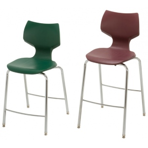 "Smith System Flavors Fixed Height Stools: 28""h"