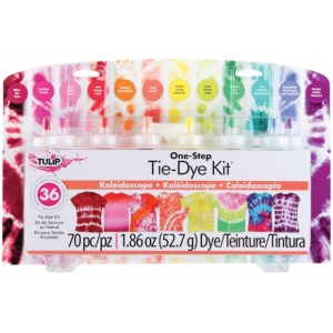 Tulip® One-Step Tie-Die Kits™ Kaleidoscope: Multi, Kit, Dye-Based, (model D31680), price per kit