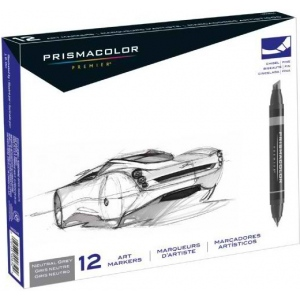 Prismacolor® Premier Chisel Marker Neutral Grey