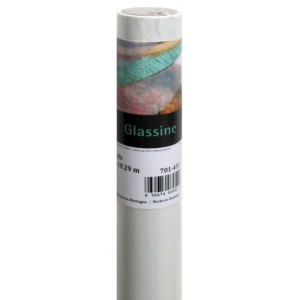 "Canson® Foundation Series 36"" x 20yd Glassine Roll: White/Ivory, Roll, 36"" x 20 yd, (model C100510830), price per roll"