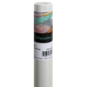 "Canson® Foundation Series 48"" x 10yd Glassine Roll: White/Ivory, Roll, 48"" x 10 yd, (model C100510832), price per roll"