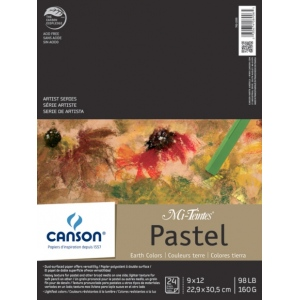 Canson® Mi-Teintes® Artist Series Fold Over Bound Pad Earth Tone