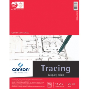Canson® Foundation Series Tracing Paper Pad