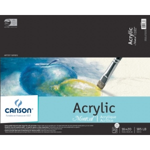Canson® Montval® Acrylic Sheet Pad