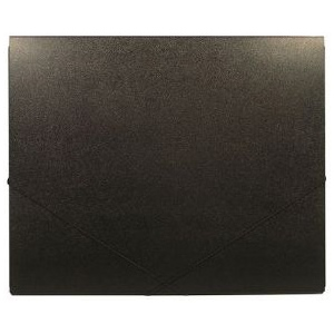 "Heritage Arts™ 14"" x 17"" Deluxe Art Portfolio: Black/Gray, 7/16"", Polypropylene, 14"" x 17"", (model HDAP1417), price per each"