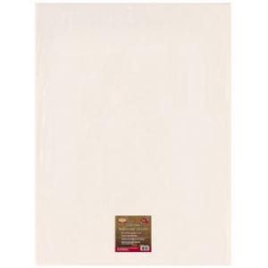 "Heritage Arts™ 140 lb. Cold Press Watercolor Sheet Stock: White/Ivory, Sheet, 22"" x 30"", Cold Press, Watercolor, 140 lb, (model HWCP140-25), price per sheet"