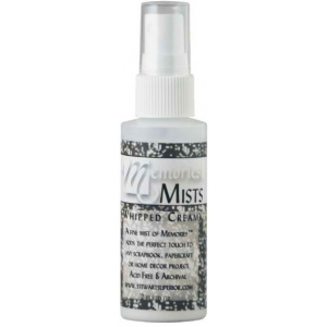 Memories™ Mist Spray Ink Whipped Cream: White/Ivory, Spray Bottle, Pigment, 2 oz, (model SSMMWC), price per each