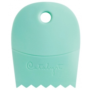 Princeton™ Catalyst™ Contour Shape 61 Mint: Silicone Synthetic Bristle, Contour, Acrylic, Oil, (model C-61), price per each