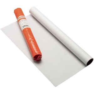 "Clearprint® 1000H Series 36 x 50yd Vellum Roll 8x8 Grid: Roll, 8"" x 8"", 36"" x 50 yd, 16 lb, (model CP10102152), price per roll"