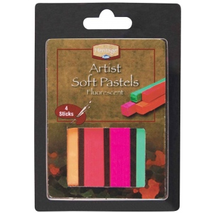 Heritage Arts™ Artist Soft Fluorescent Artist Soft Pastel Set: Multi, Stick, Soft