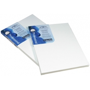 "Winsor & Newton™ Artists' Stretched Canvas Cotton 4"" x 5"" : 4"" x 5"", 13/16"", Stretched, (model 6005096), price per each"
