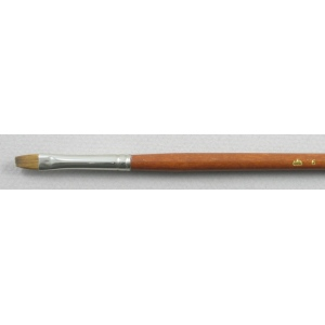Trinity Brush Pure Red Sable 5105: Bright Size 6 Brush