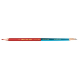 Prismacolor® Verithin® Premier Pencil Red/Blue: Blue, Red/Pink