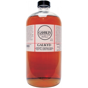 Gamblin Galkyd Medium 32oz: 32 oz, Oil Alkyd