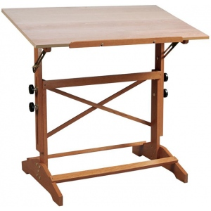 Alvin® Pavillon Art and Drawing Table Height/Angle Adjustment