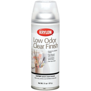 Krylon® Low Odor Clear Finish Sprays