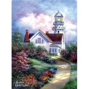 "Royal & Langnickel® Paint Your Own Masterpiece™ 11 x 14 Cape Elizabeth: 11"" x 14"", (model POM-SET1), price per set"