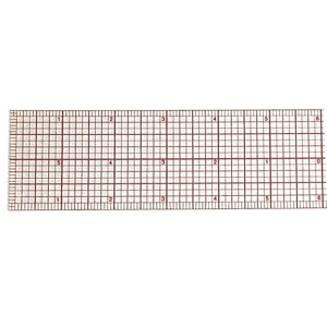 "Westcott® C-Thru® 12"" Beveled Graph Ruler: Clear, Plastic, 12"", Ruler, (model B70), price per each"