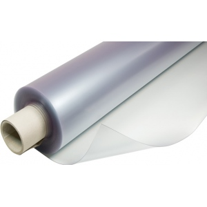 "Alvin® VYCO Translucent Board Cover 43 1/2"" x 10yd: Clear, White/Ivory, Roll, Vinyl, 42 1/2"" x 10 yd, (model VBC55/43), price per roll"