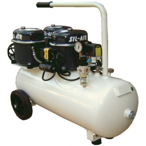 Silentaire Sil-Air 150-50 Silent Running Airbrush Compressor: Oil Lubricated, Portable Air Compressor