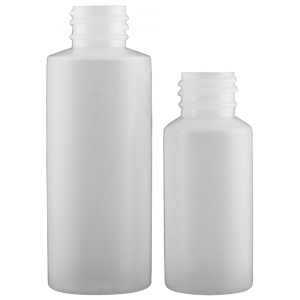 Paasche Model PB Empty Plastic Bottles: 3 Oz.